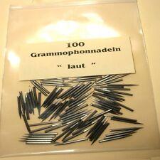 100 Grammophonnadeln Laut - Schellack Nadeln 78 RPM Gramophone Needles loud Tone