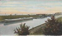 POSTCARD NEW YORK BUFFALO Erie Canal- Vintage Postcard