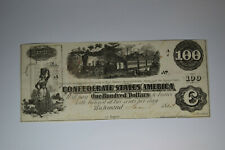 T40 $100 1862 Pf-20 Cr. 308. Choice About Uncirculated