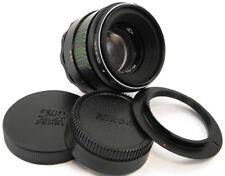 *NEW* ⭐INFINITY Adapted⭐ HELIOS 44-2 58mm f/2 Lens Nikon F Mount Df D500 D750 D5