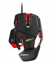 Mad Catz R.A.T. 6 Gaming Mouse Wire, Laser Sensor