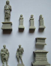Greek-roman, ancient, antique statues, sculptures resin diorama acessories 1/72