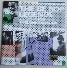 J J JOHNSON THELONIOUS MONK    CD THE BE BOP LEGENDS