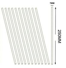 12 Pack Glass Stirring Rods 10 Round Ends For Science Educationlab And Kitchen