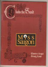"""Miss Saigon""   London Playbill 1990   Lea Salonga, Hilton McRae, Claire Moore"