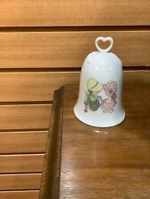 Precious Moments Porcelain Friendship Bell With Ringer & Inscription 1994