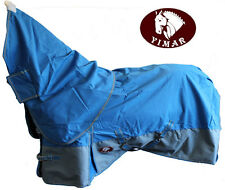 YIMAR 900D WATERPROOF NOFILL COTTON LINED HORSE RUG NECK SET 5'6 5'9 6'0 6'3 6'6