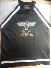 VINTAGE BOY LONDON PUNK PISTOLS JERSEY TSHIRT L