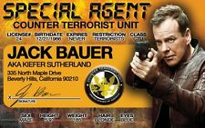 24 actor Jack Bauer / Kiefer Sutherland Drivers License -Designated Survivor