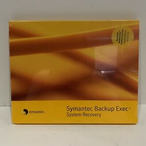 Symantec Backup Exec System Recovery Server Edition New  sealed 2006? See Pics