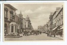 Postcard Boscawen Street Truro Raphael Tuck War Memorial