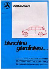 BIANCHINA GIARDINIERA– Catalogo parti ricambio CARROZZERIA!
