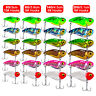 Lot 6x Metal Blade Fishing Lures Hard VIB Bait Crankbaits Fish Lures