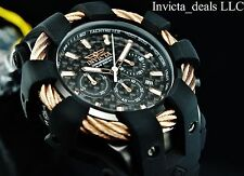 Invicta Men's 48mm Bolt Sport Chronograph Carbon Fiber Dial Rose Tone SS Watch
