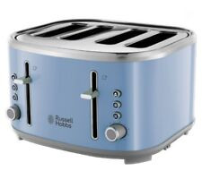 R HOBBS Bubble 24413 4-Slice Toaster - Blue