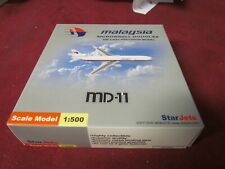 MALAYSIA AIRLINES McDONNELL DOUGLAS MD-11 MODEL 1;500 SCALE STAR JETS