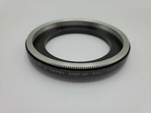 Tiffen Series 8 VIII to Series 9 IX Step Up Filter Adapter w/ Retaining Ring