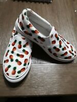 Sole mates shoes pineapple loafers slip on summer unusual shoes
