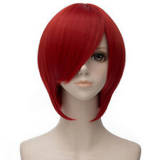 Starry Sky Tomoe You Red Short 30CM Straight Halloween Anime Cosplay Full Wig
