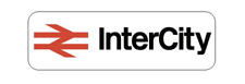 INTERCITY 125 INSPIRED STICKERS / LABELS X 6 BRITISH RAIL HST