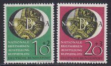 Bundesrepublik 1951 Mi.Nr. 141-42 ** postfrisch Briefmarkenausstellung Wuppertal