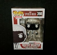 Funko POP! Marvel Gamerverse Spider-Man **MISTER NEGATIVE** #398 Vinyl Figure