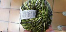 Wolle ONline Linie 110 Timona Design Color (135) 150g grüntöne 60% Schurwolle
