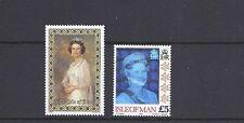 Isle Of Man 1985-94 Qeii (Scott 281 553 2 different high values) Vf Mint