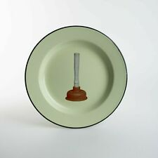 Maurizio Cattelan - Seletti wears Toiletpaper Plunger plate - Hirst Jeff Koons