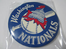 Vintage MLB Washington Nationals 1960 MLB Baseball pin back button