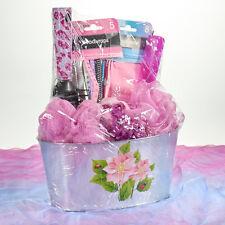 Pink & Purple Leopard Hair Care Gift Basket - Women, Girls, Teens GREAT GIFT!