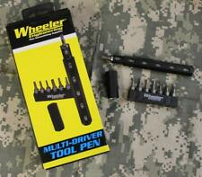 Wheeler Engineering #1082256 Multi Driver Tool Pen w/13 Interchangeable Bits NEW