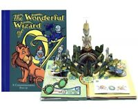 Wizard Of Oz Pop Up Book by Robert Sabuda 1st Edition Hand Signed Dated Rare