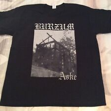 1BURZUM Aske Shirt XL, Azarath, The Chasm, Urgehal, Urfaust, Inquisition