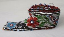 Traditional Collectible Antique Native North American Beaded Handmade Belt #2