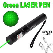990 Meilen USB wiederaufladbar 303 Grün Laserpointer 532nm <1mw Laserstrahl