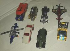 lot de 8 voiture hot wheels avion helicoptere hot rod camion no box no majorette