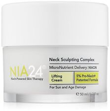 NIA24 Nia 24 Neck Sculpting Complex - 1.7 oz / 50 ml New Fresh - Authentic