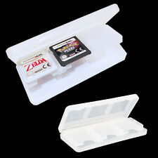 White 6 In 1 Game Card Holder Storage Case for Nintendo DS Lite NDSL NDS NEW