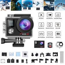 Campark 4K WIFI Action Cam Sports Camera DVR Fernbedienung  Unterwasserkamera DE