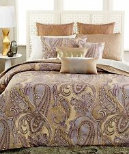 INC International Concepts Messina 4-Piece Full Queen Duvet Cover Set $300 New