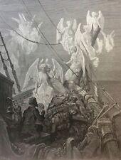Gustave Doré Anciens Marins 1876 XIX ème Marine Marin Naufrage les esprits