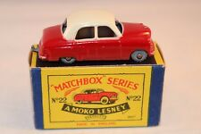Matchbox Moko Lesney 22a 22 Vauxhall Cresta near mint in box