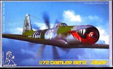 Unicraft Models 1/72 DIAMLER BENZ JAEGER German WWII Fighter Project