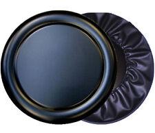 Pajero Shogun Mitsubishi Pinin Negro Plata Semi Rígido Duro Plástico Cubierta de rueda