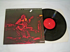LP - Siegfried Schwab Guitaristics - 1981 MINT # cleaned
