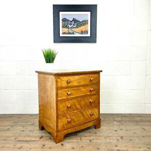 Antique Satin Birch Chest of Drawers (M-3046) - FREE DELIVERY*