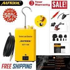 Auto EVAP Fuel Pipe Air Intake System Smoke Leak Detector Tester AUTOOL SDT-106