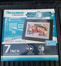 Panimage by Pandigital 7 inch Digital Photo Frame. Model Number PI7002AW