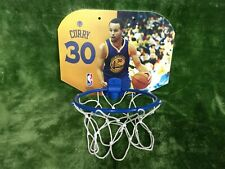 Golden State Warriors Steph Curry indoor mini basket.
